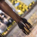 Cervin Séduction Couture met Zilveren Naad